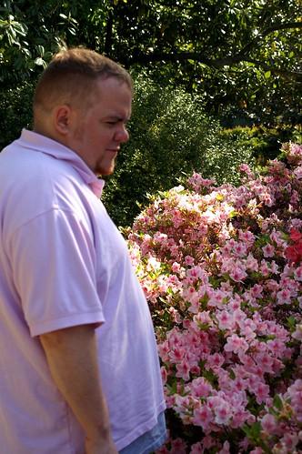 Michael Posing for Pictures at Duke Gardens http://flic.kr/p/8z2JtE