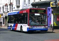 S693YOL with Pendeford branding (MCW1987) Tags: park travel west branded route lane branding circular excel midlands wolverhampton optare 693 pendeford s693yol