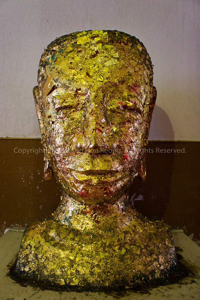 """Head"" @ Wat Phra Mongkolbhopit, Ayutthaya Thailand"