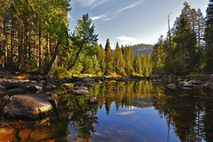 Merced River, Little Yosemite Valley, Yosemite...