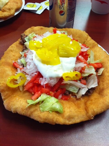 Lunch. An Indian Taco...