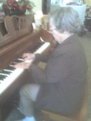 Grandma Playing Piano