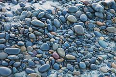 Pebbles on the Beach (wyojones) Tags: ocean california statepark beach sand pacific torreypines sandiego lajolla pebbles geology np cobbles rounded delmar torreypinesbeach chert statebeach rounding volcanics wyojones
