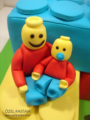 Emin'in Lego Pastası / Lego Cake