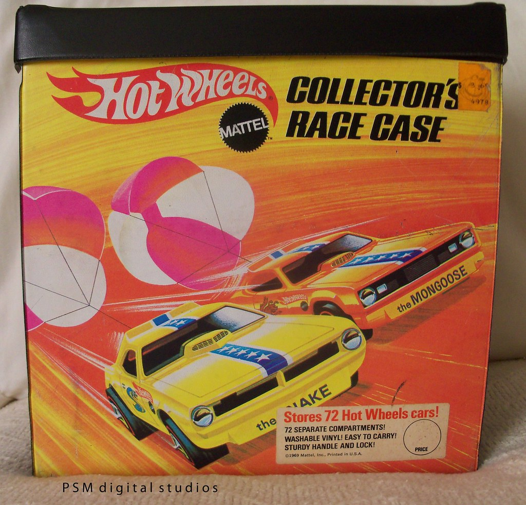 1969 Original Mattel Hot Wheels Collectors Case