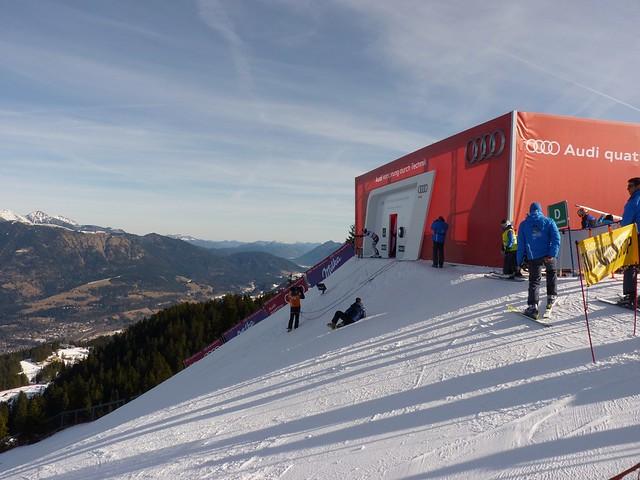 Starthaus Kandahar - Ski-WM Tag 4
