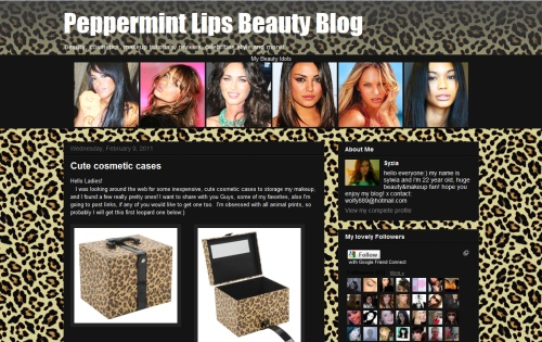 Peppermint Lips Beauty Blog