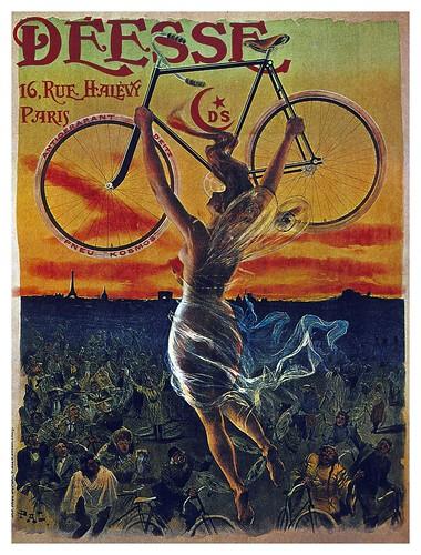 017-Carteles de bicicletas antiguas