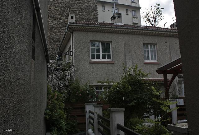 Une maison individuelle à Paris