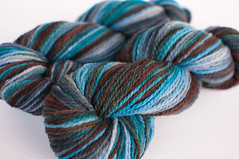 """Eagle Mountain"" on Cestari Superfine Merino 8 oz."