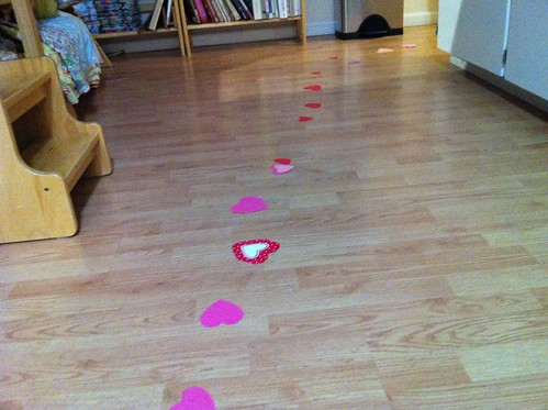 our annual trail of hearts