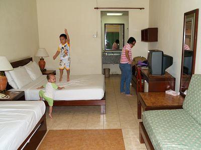 Bukit Merah hotel room