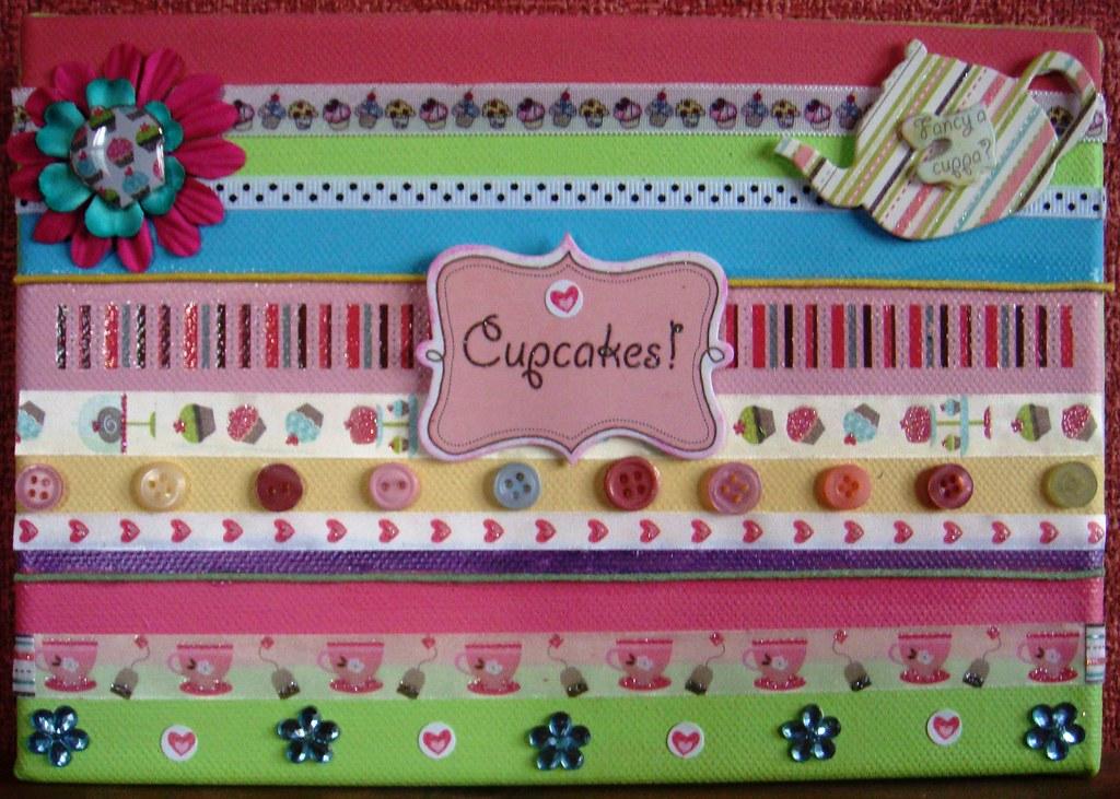 Cupcake Canvas 2