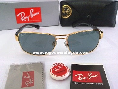 RB 3379 Gold Polarized
