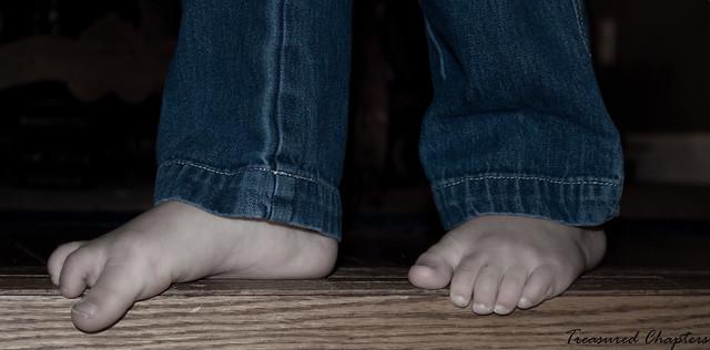 Audrey feet