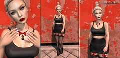 LOT#099 (Carola Fetuccio) Tags: opalehair supernatural livia fetch revelation emporium friday pandorabox uber kawaiiproject secondlife nail necklace blogger 2017 ootd woman lotd moda blonde fashion july