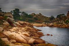 No man's land - Ploumanach (delphine imbert) Tags: bretagne ploumanach rocher nature ocean atlantique ciel eau mer terre silence