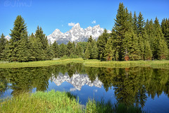 Schwabacher (Jim Johnston (OKC)) Tags: schwabacherslanding grandtetons wyoming reflections