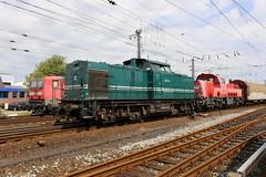 Enercon 203 318-1 und 261 001-2 Emden Rbf (michaelgoll777) Tags: br261 gravita v100 northrail