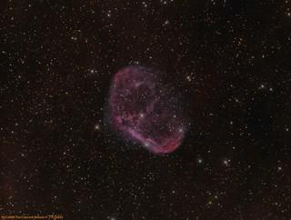 NGC6888 The Crescent Nebula