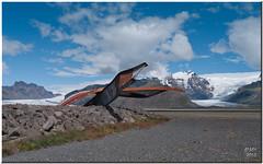 Skaftafel Glaciers Viewpoint (Maria-H) Tags: iceland nationalpark glacier panasonic g1 1445 skaftafel dmcg1