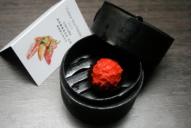 Chili truffle