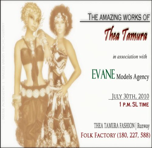 Thea Tamura Fashion - Evane Models Agency