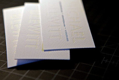 Michael Blewitt - Business Cards