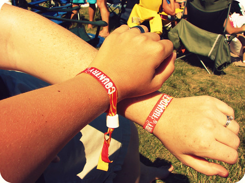 Country Thunder Wristbands