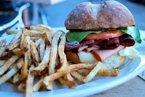 bologna sandwich - Johnny Brenda's