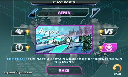 Asphalt 5 Events