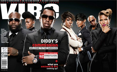 DIDDY RICK ROSS VIBE MAGAZINE  Aug/Sept JUICE Issue