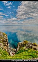 Porsangerfjorden, Finnmark (Norway)