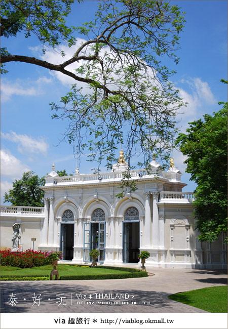 【泰國旅遊】大城之旅|泰皇的渡假聖堂~芭茵夏宮28