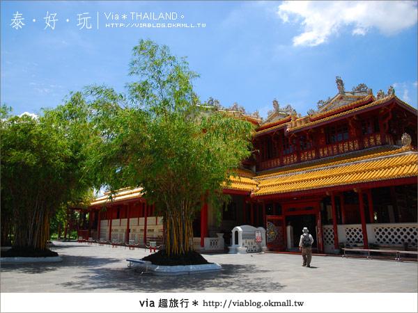 【泰國旅遊】大城之旅|泰皇的渡假聖堂~芭茵夏宮40