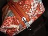 """Modelo em dobradura da Feltro Flor (""""Feltro Flor"""") Tags: quilt artesanal patchwork bolsa bolsas aula maga molde santinho anjinho tecido bordado costura necessaire troquinha aresanato"""