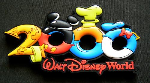 2000 WDW Magnet