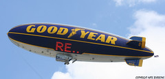 Goodyear Blimp (Nate Burrows Photography) Tags: coastguard wisconsin army flying waco navy airshow pirate airforce marinecorps eaa oshkosh airventure aerobatics pitts ethanol ironeagle eaaairventure
