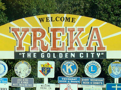 welcome to Yreka (by: Joe Pemberton, creative commons license)