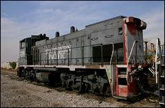 SP 2756 in Anaheim, California (greenthumb_38) Tags: california railroad digital train rebel canon300d sp locomotive 1855mm orangecounty anaheim crud switcher southernpacific espee mp15ac yardgoat westanaheim jeffreybass