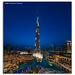 Once Upon a Time in Dubai (DanielKHC) Tags: world blue tower pool digital lights hotel 1 interestingness high nikon long exposure dubai cityscape dynamic united uae emirates explore khalifa arab fountains range dri hdr address burj blending tallest d300 dubaimall danielcheong bratanesque danielkhc vertorama tokina1116mmf28 gettyimagesmeandafrica1
