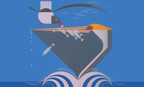 "Charley Harper • <a style=""font-size:0.8em;"" href=""https://www.flickr.com/photos/30735181@N00/4848320694/"" target=""_blank"">View on Flickr</a>"