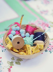 Cinderella's Sewing Basket (bootsieking) Tags: