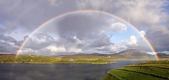 One-Eighty (the44mantis) Tags: sea sky mountain rural island coast scotland rainbow village tide hill lewis escocia explore croft uig hebrides schottland schotland ecosse scozia crowlista cradhlastadh
