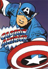 Capitán America Marvel comic
