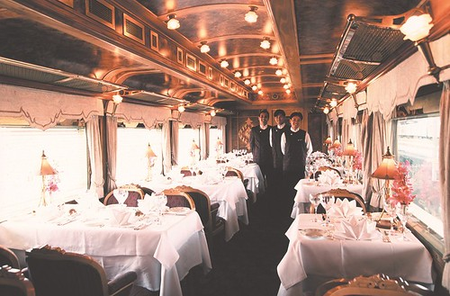 Restaurant car  - Eastern Oriental Luxury Train