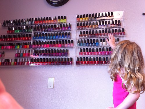 Picking nail polish colors