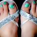 228/365: Painted Toesies