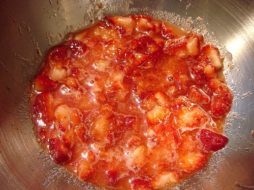 Strawberry Rhubarb Breadmaker Jam