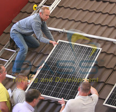 Solar Panel Course Snapshot - Team work on our course